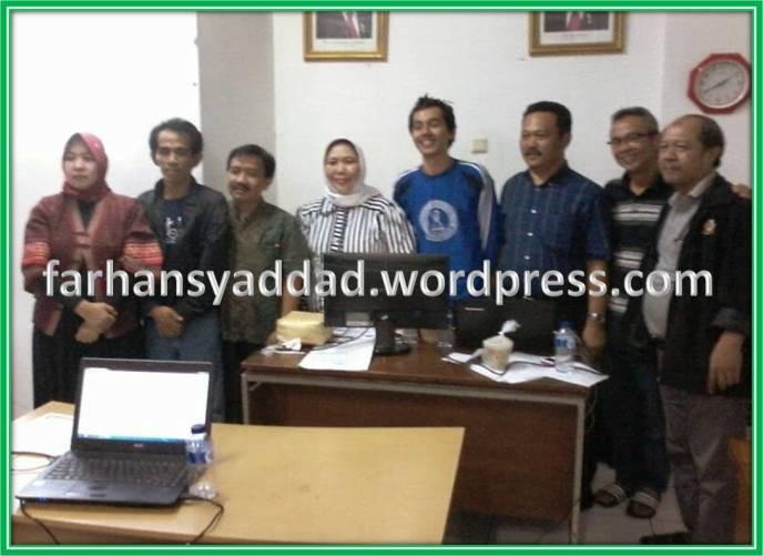Ka Disdik Kota Bogor beserta rengrenganya sesaat setelah selesai verifikasi